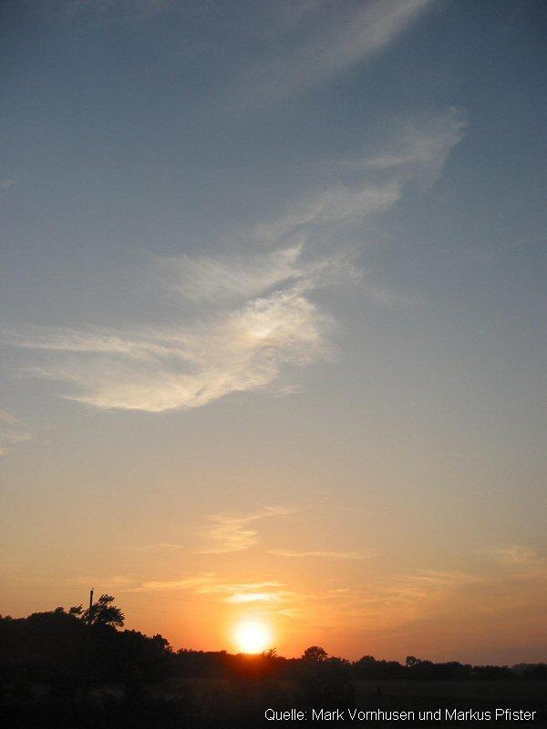 Cirrus-Wolken